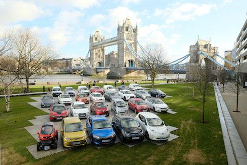 UK low emission cars
