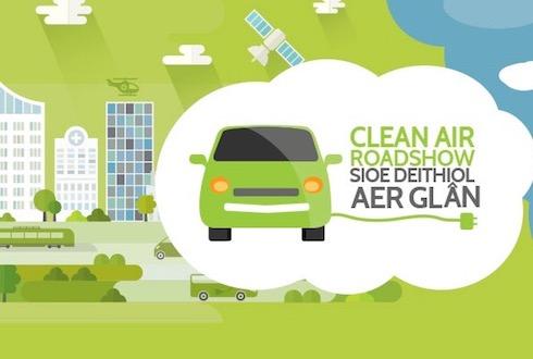 swansea clean air roadshow
