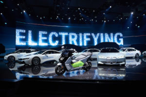 BMW electric vehicles at the Frankfurt Motor Show