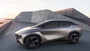 Nissan IMx KURO concept vehicle exterior